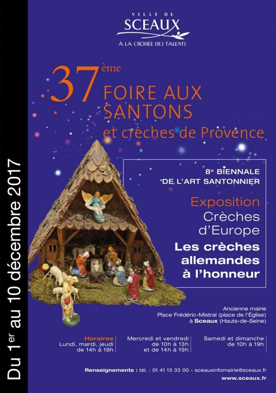 37e Foire aux Santons de Sceaux